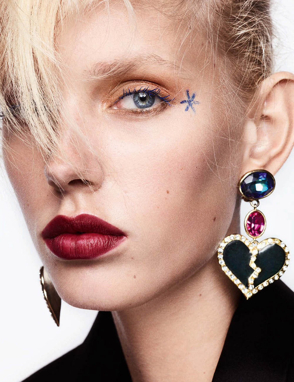 Jessie Bloemendaal by Ben Hassett for Vogue Germany January 2018
