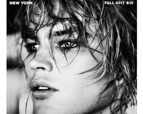 Jordan Barrett covers PAPER Magazine Fall 2017 by Ellen von Unwerth