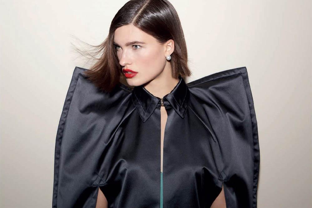 Julia van Os covers Harper's Bazaar Spain February 2018 by Paul Empson