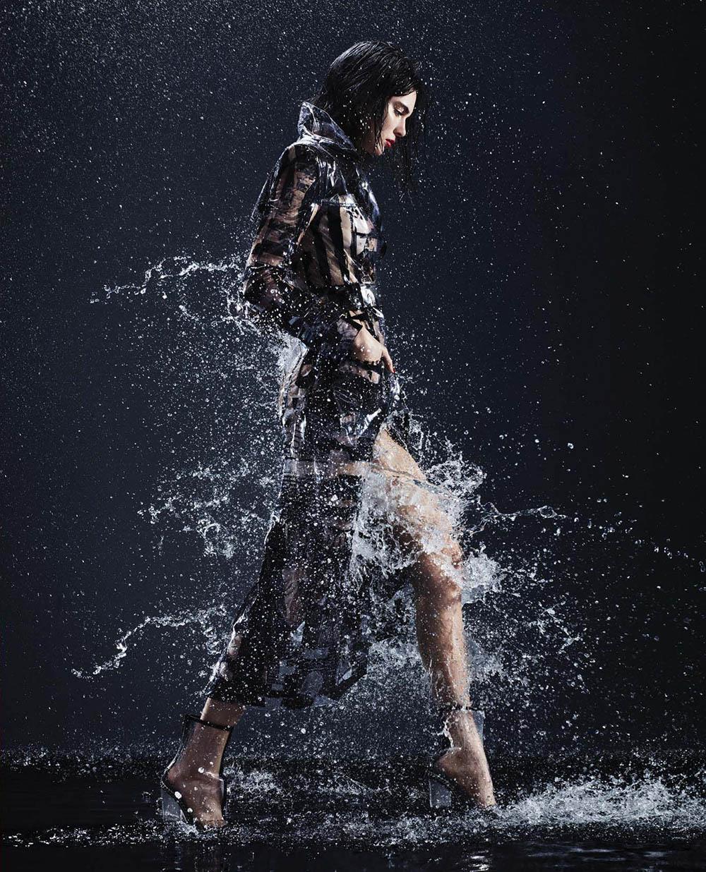 Kendall Jenner covers Harper's Bazaar US February 2018 by Sølve Sundsbø