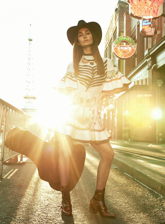 Lily Aldridge by Craig Salmon for V Magazine Spring 2018