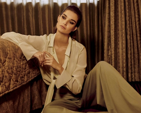 Ophelie Guillermand by Trent McGinn for Vogue Mexico January 2018