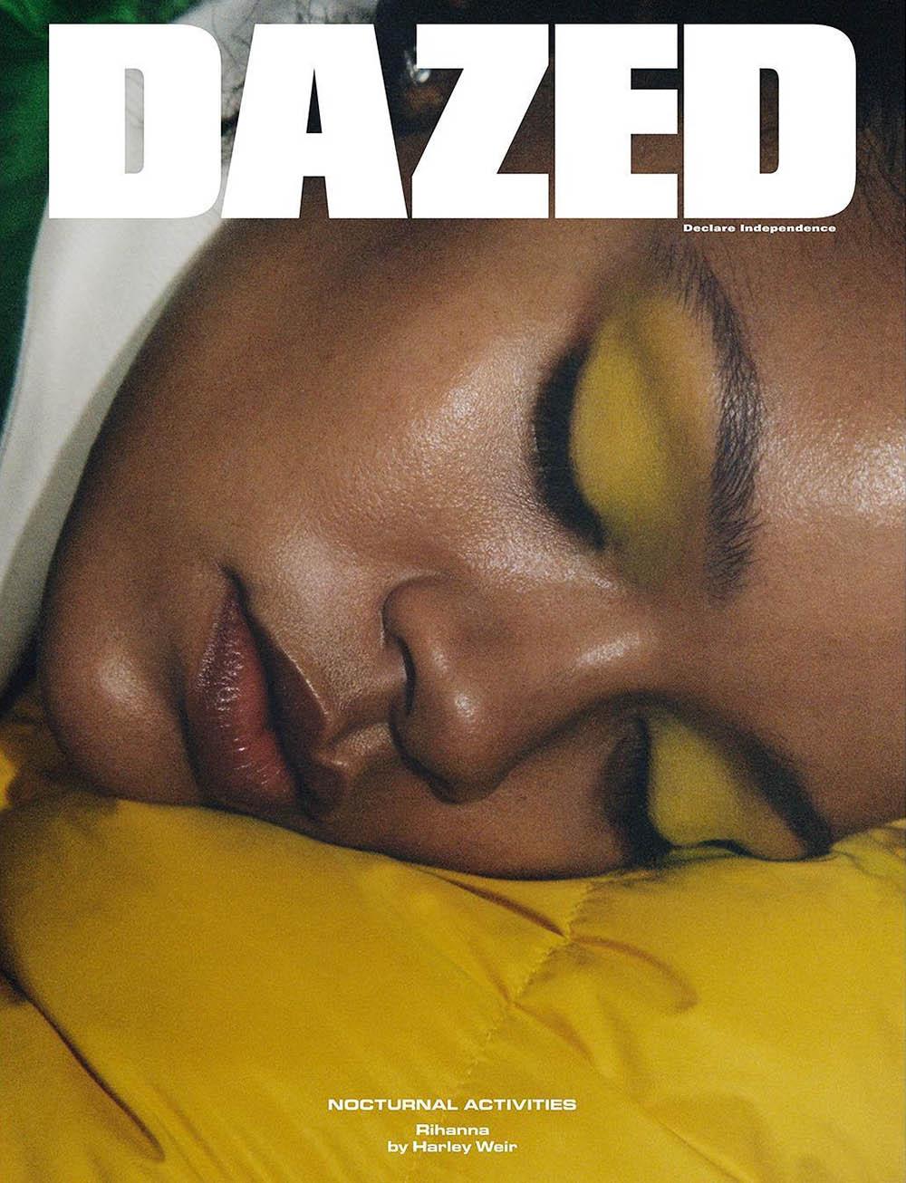 Rihanna covers Dazed Magazine Winter 2017 by Harley Weir