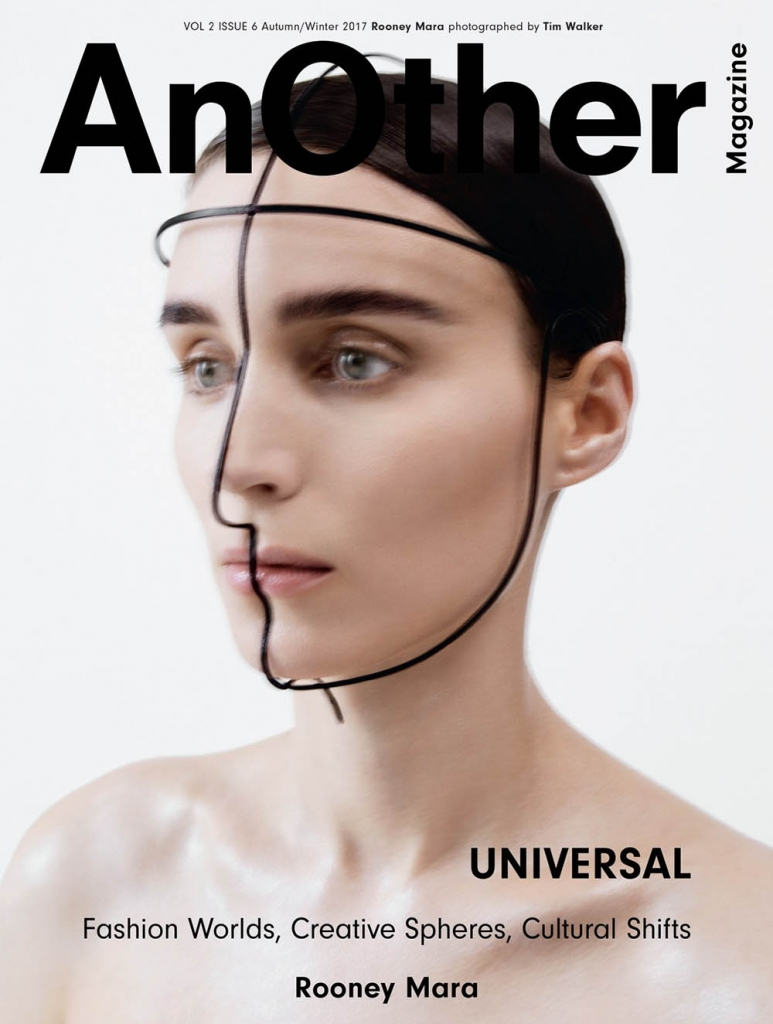 Rooney Mara covers AnOther Magazine Autumn Winter 2017 by Tim Walker