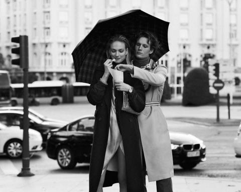 Sophia Ahrens and Felix Gesnouin by Alvaro Beamud for Vogue Spain February 2018