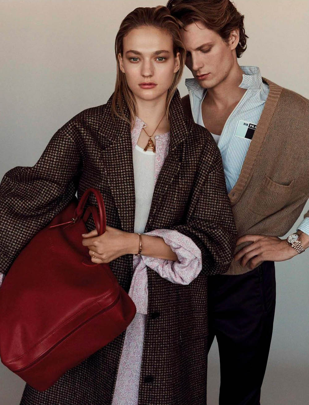 Sophia Ahrens and Felix Gesnouin by Alvaro Beamud for Vogue Spain February 2018