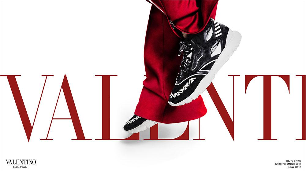 Valentino Men's Spring Summer 2018 Campaign