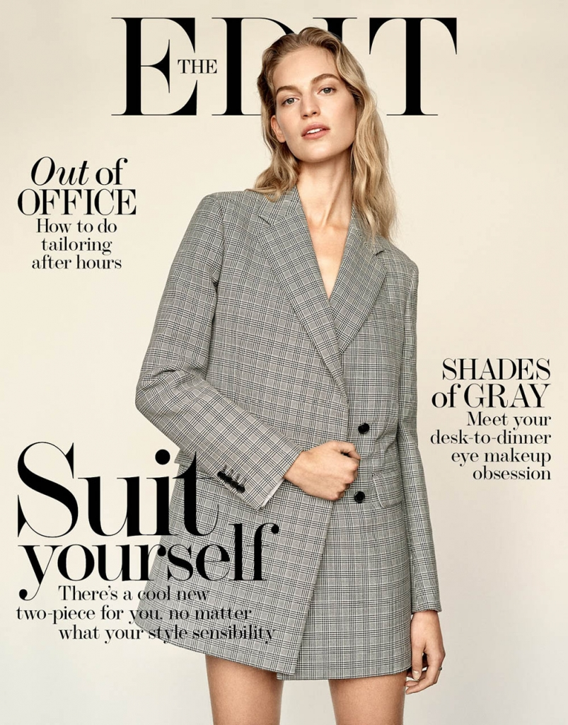 Vanessa Axente covers The Edit January 4th, 2018 by Alexandra Nataf