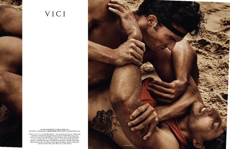 ''Veni Vidi Vici'' by Mario Testino for Man About Town Fall Winter 2017