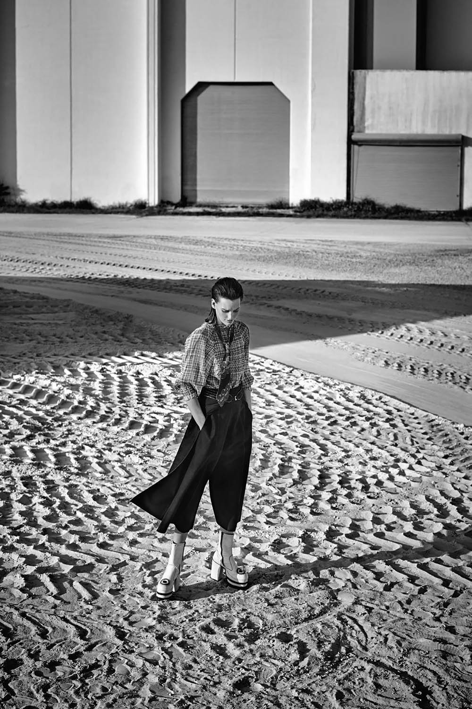 Amanda Murphy by Nathaniel Goldberg for Numéro March 2018