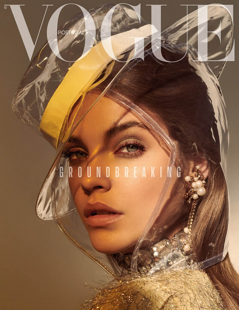 Barbara Palvin covers Vogue Portugal March 2018 by Andreas Ortner