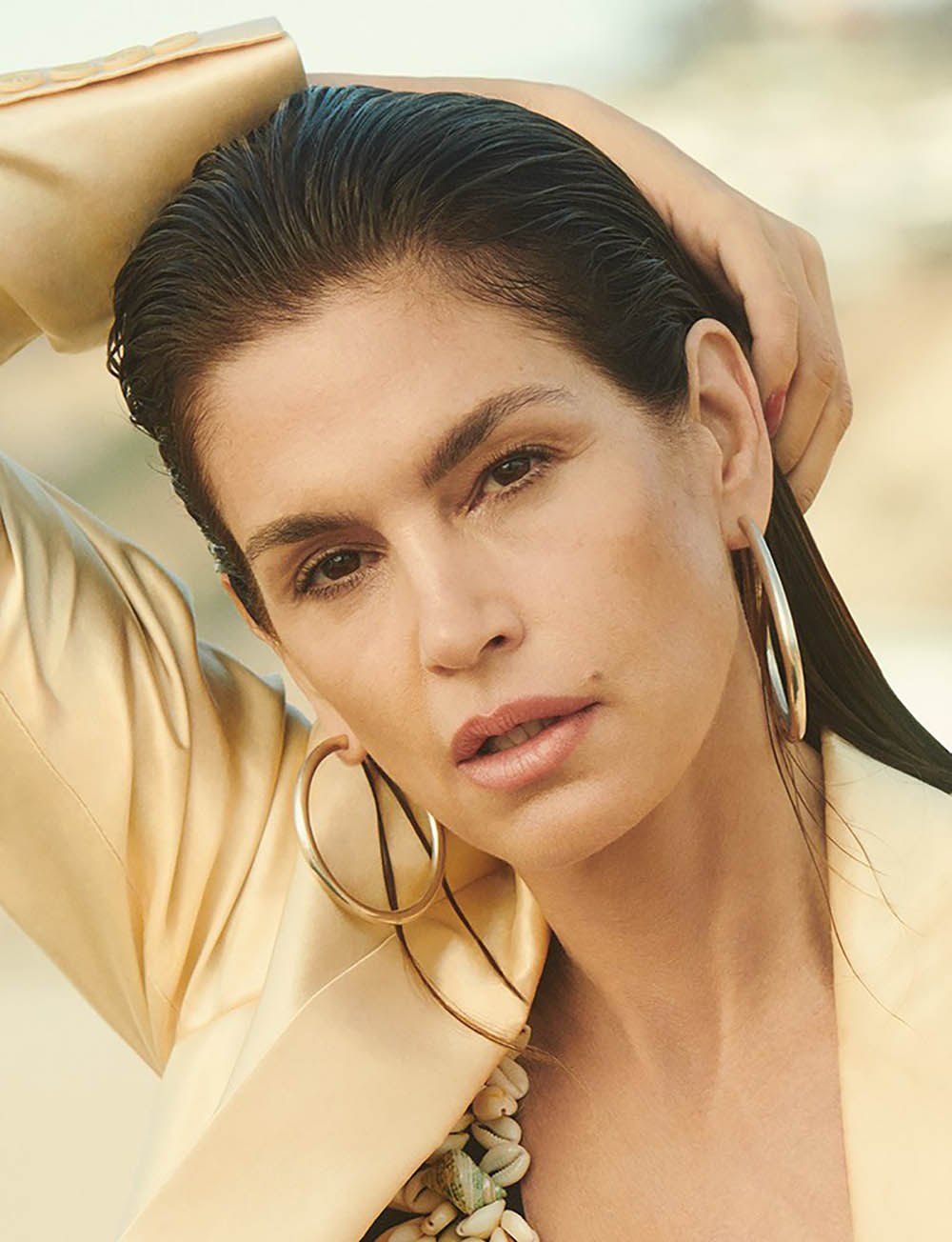 Cindy Crawford Covers Pop Magazine Spring Summer 2018 By