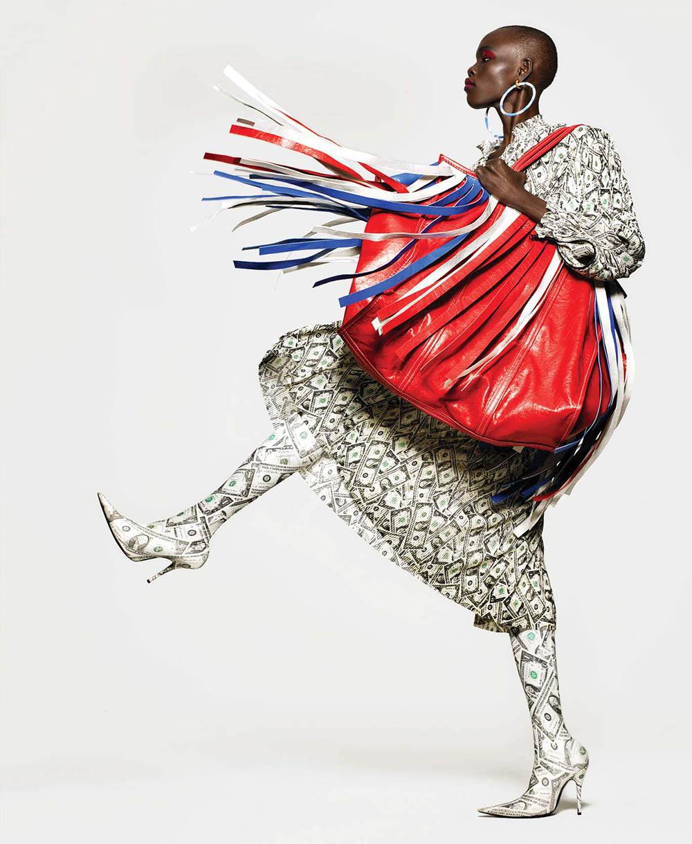 Grace Bol by Kenneth Willardt for Harper's Bazaar US March 2018