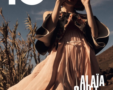 Jennae Quisenberry covers 10 Magazine Spring Summer 2018 by Emma Tempest