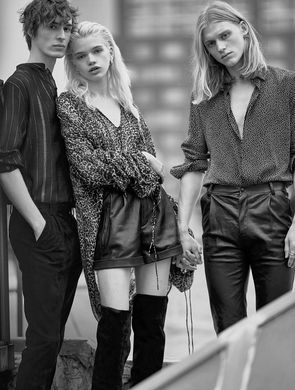 ''Jungle Urbaine'' by Billy Kidd for Numéro March 2018
