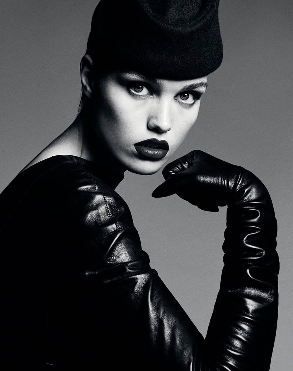 Luna Bijl covers Vogue Russia March 2018 by Luigi & Iango