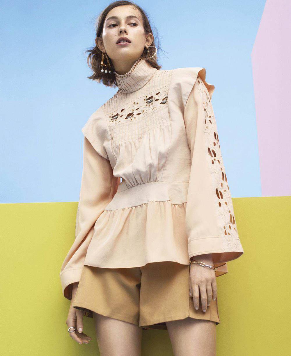 Mali Koopman by Sebastian Kim for Harper's Bazaar US April 2018