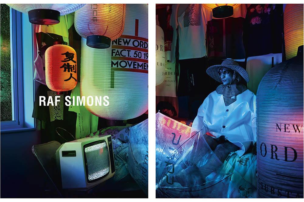 Raf Simons Spring Summer 2018 Campaign