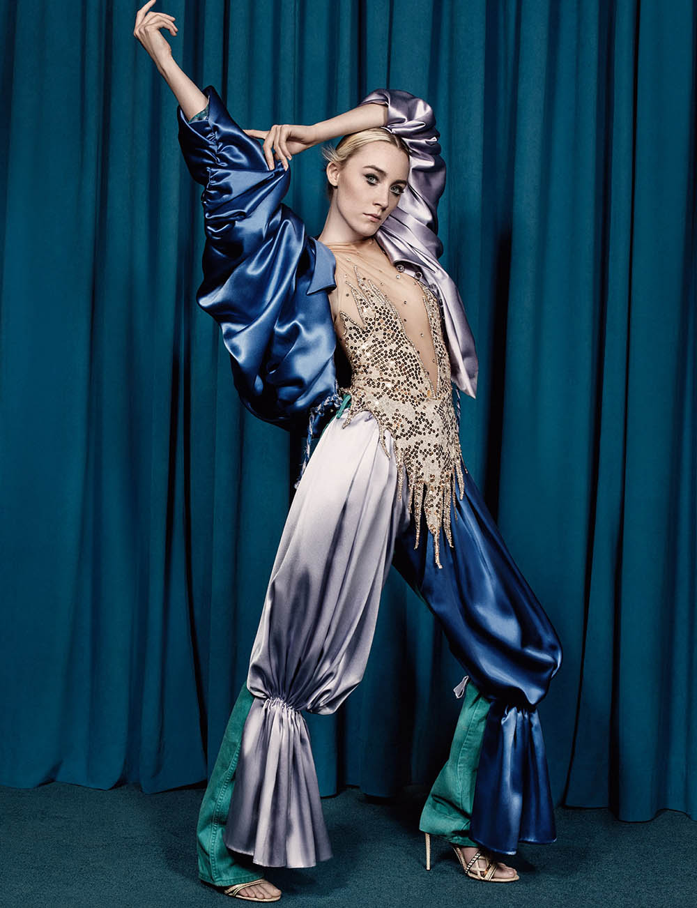 Saoirse Ronan covers AnOther Magazine Spring Summer 2018 by Craig McDean