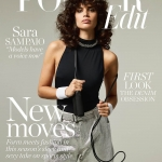 Sara Sampaio covers Porter Edit March 23rd, 2018 by Hanna Tveite
