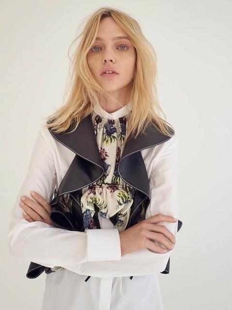 Sasha Pivovarova by Bibi Cornejo Borthwick for CR Fashion Book Spring 2018