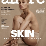 Adwoa Aboah covers Allure US April 2018 by Daniel Jackson