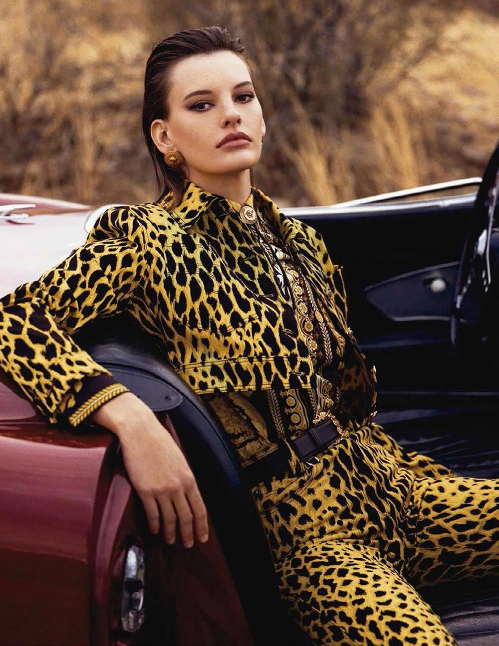 Amanda Murphy by Bjorn Iooss for Vogue Spain April 2018