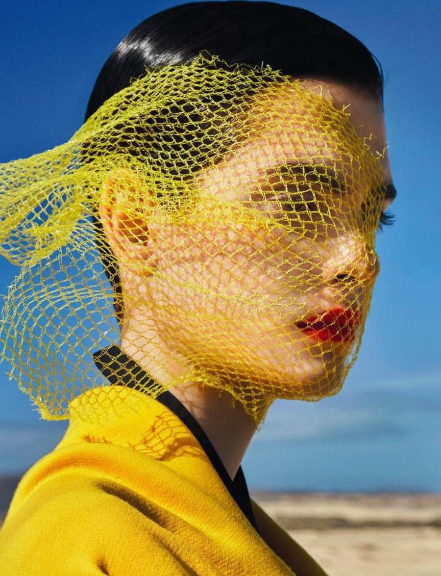 Amandine Renard by Txema Yeste for Numéro April 2018
