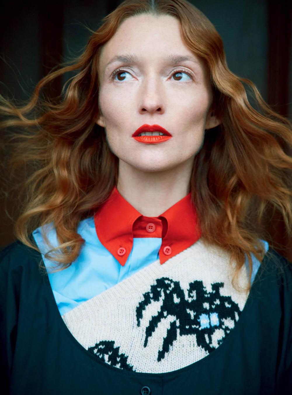 Audrey Marnay by Erik Madigan Heck for Harper's Bazaar UK April 2018