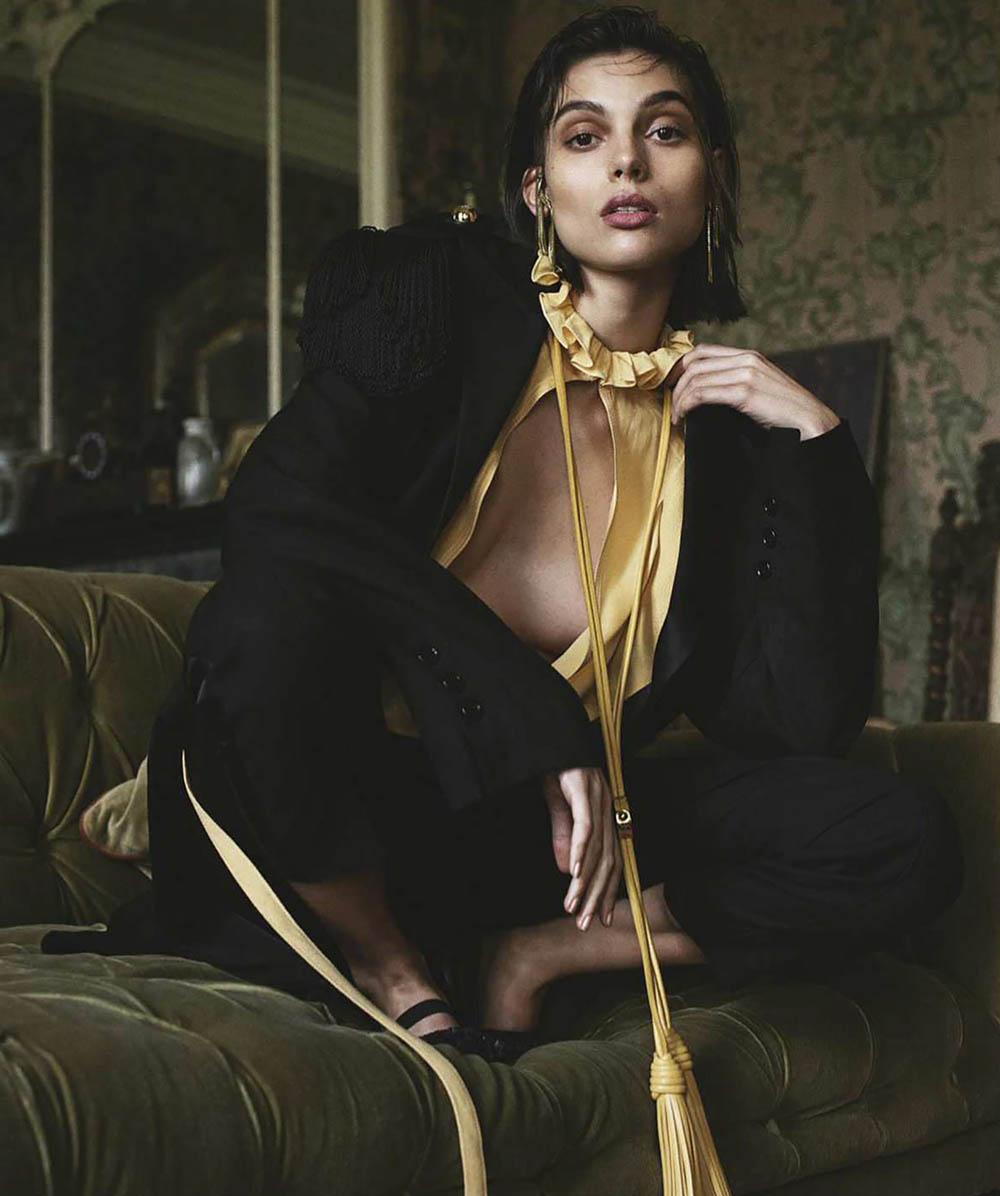 Charlee Fraser and Danielle Lashley by Sebastian Kim for Vogue Australia April 2018