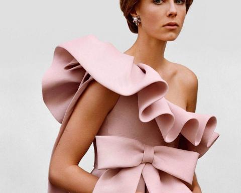 Edie Campbell by Alasdair McLellan for Vogue Paris April 2018