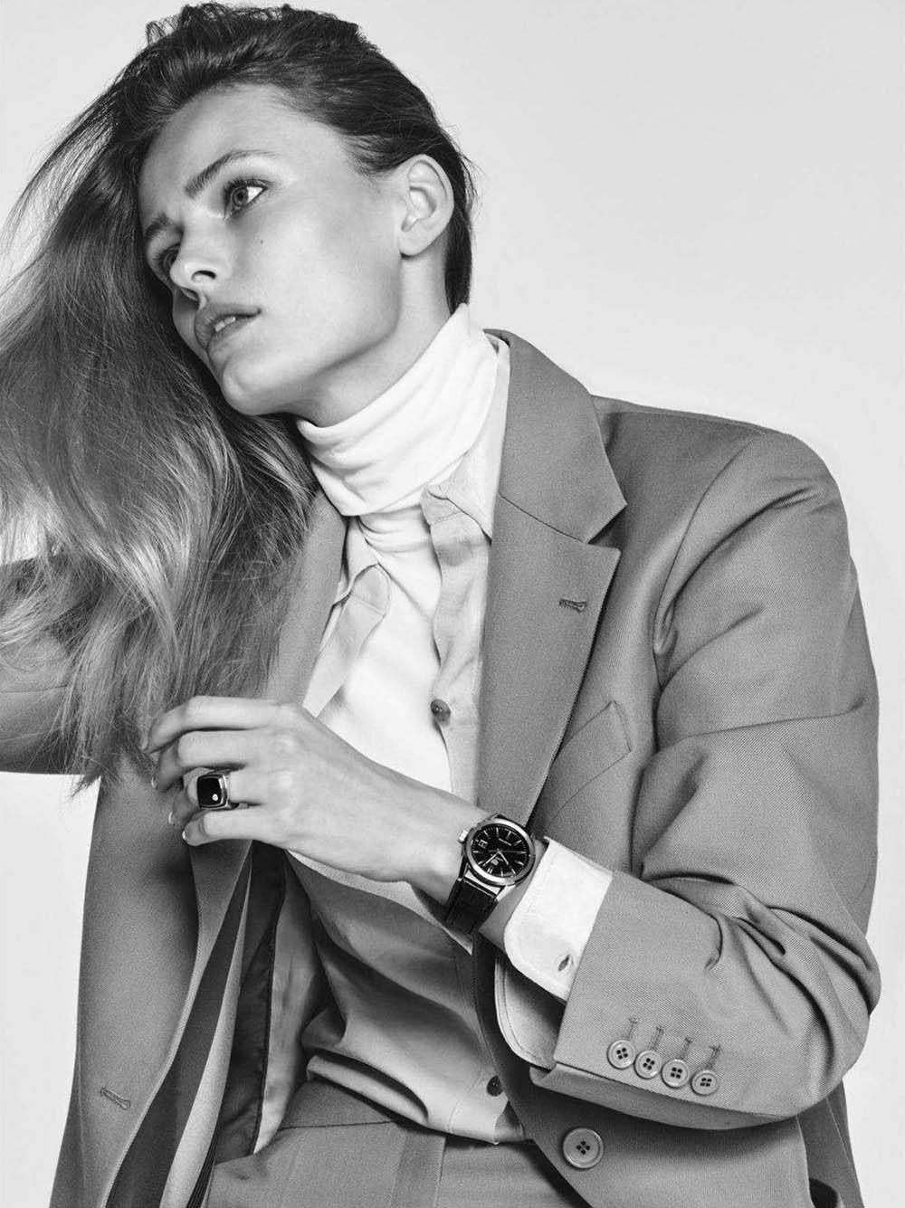 Edita Vilkeviciute by Chris Colls for Vogue Paris April 2018