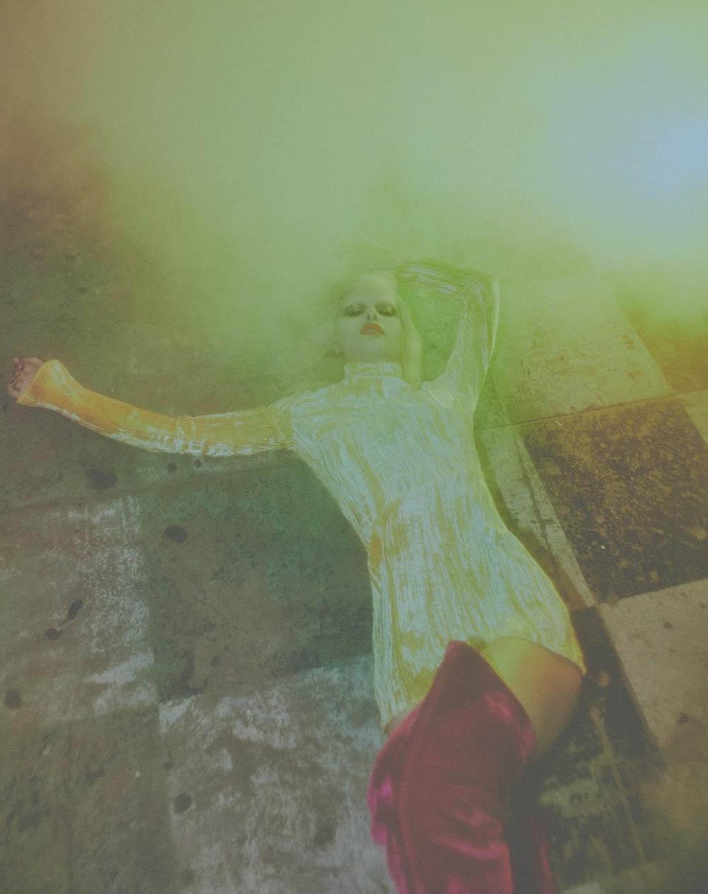 Elise Agee by Emmanuel Giraud for Numéro April 2018