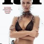 Eva Herzigova covers Lui Magazine Spring 2018 by Sølve Sundsbø