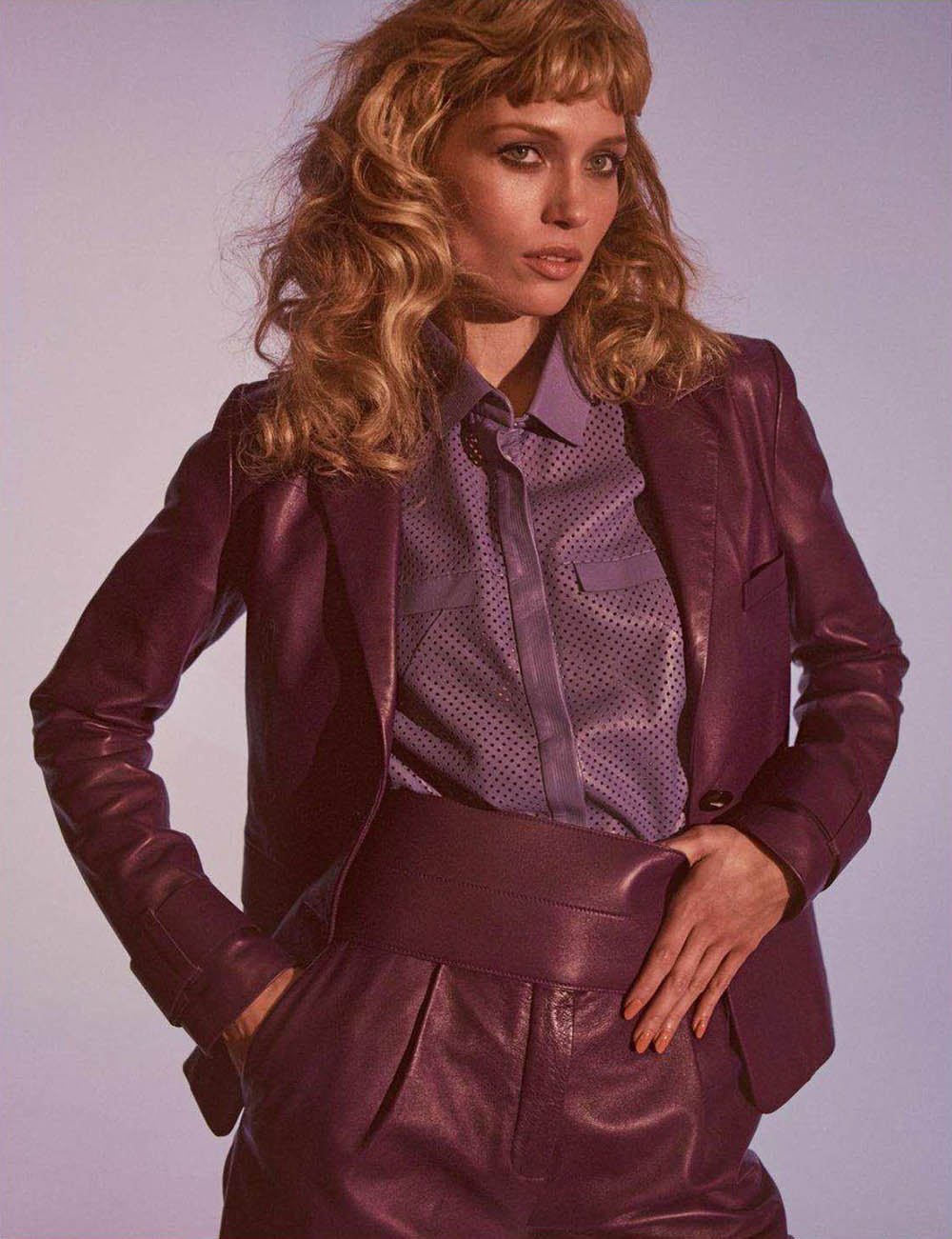Hana Jirickova by Gregory Harris for Vogue Paris April 2018