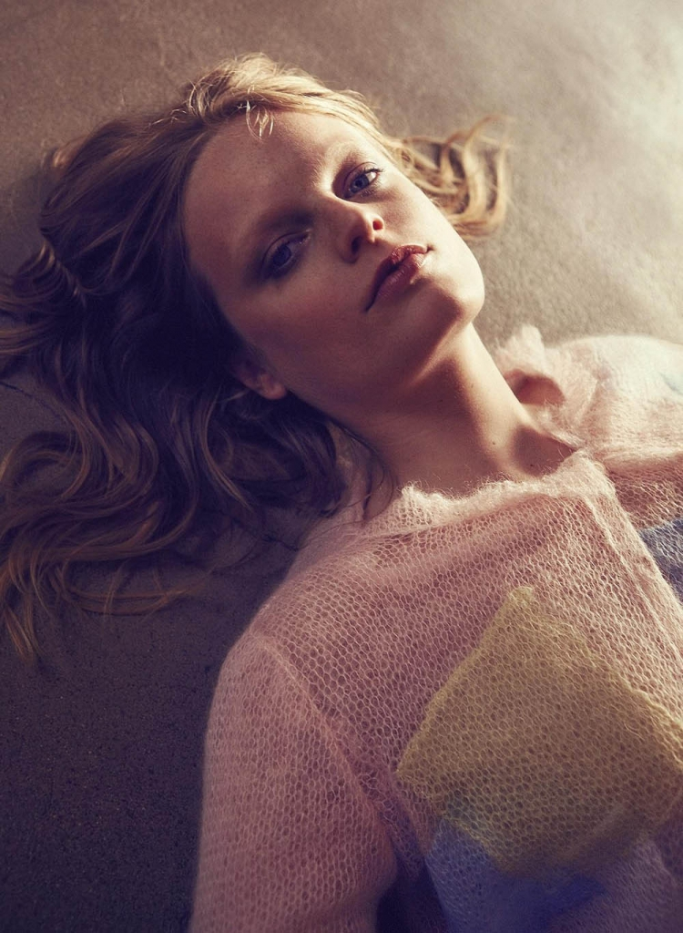 Hanne Gaby Odiele by Sofia Sanchez & Mauro Mongiello for Harper's Bazaar Germany April 2018
