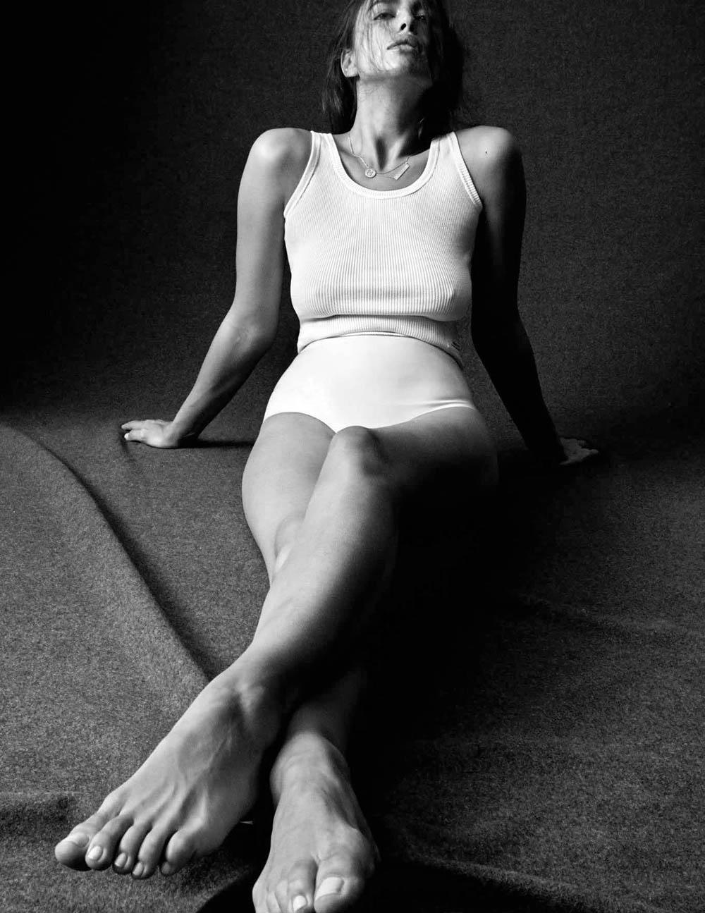 Irina Shayk covers Vogue Germany April 2018 by Daniel Jackson