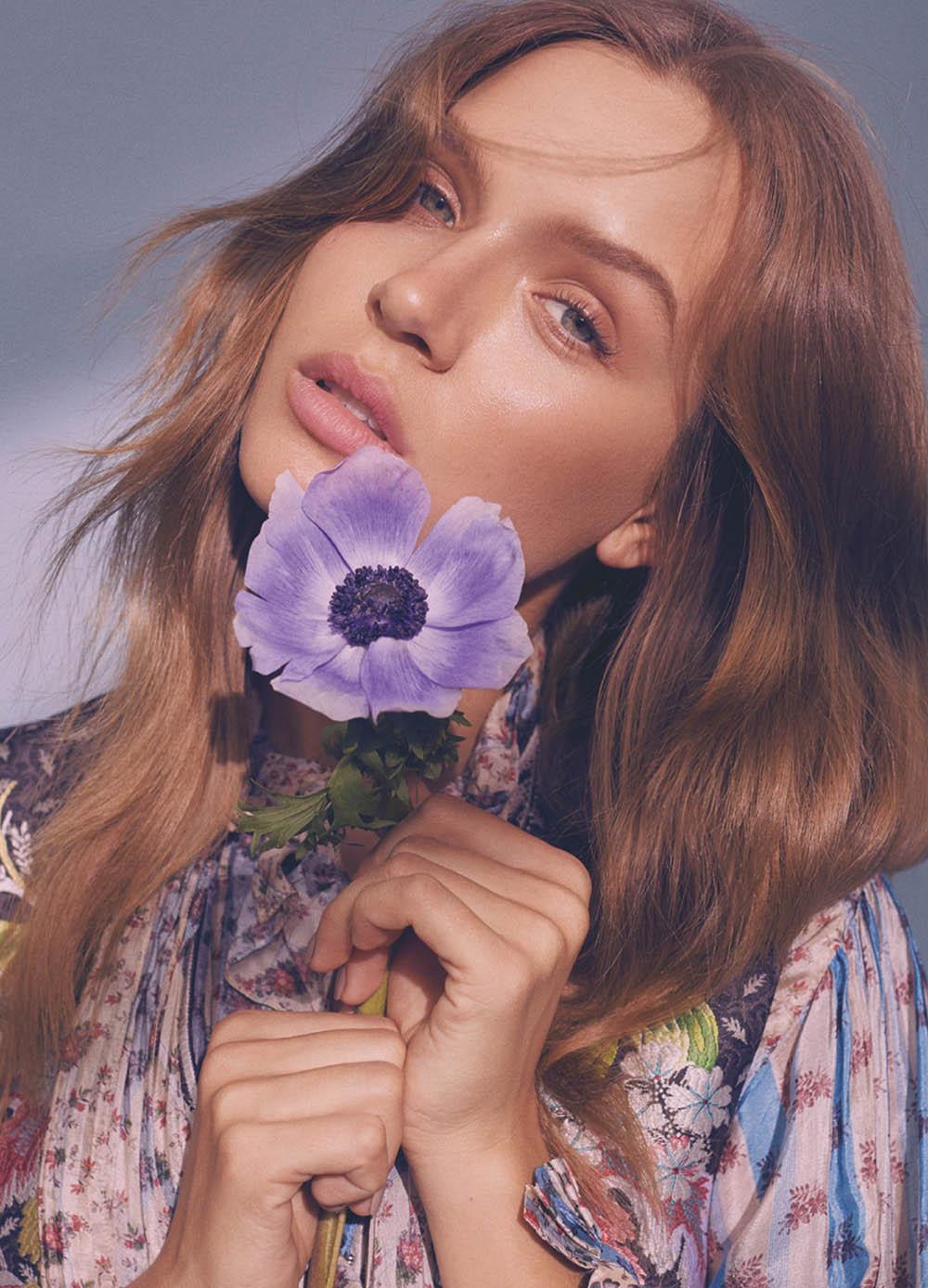 Josephine Skriver covers Numéro Tokyo April 2018 by Zoey Grossman