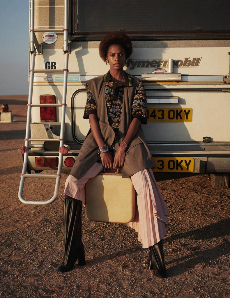 Karly Loyce by Ward Ivan Rafik for Vogue Germany May 2018
