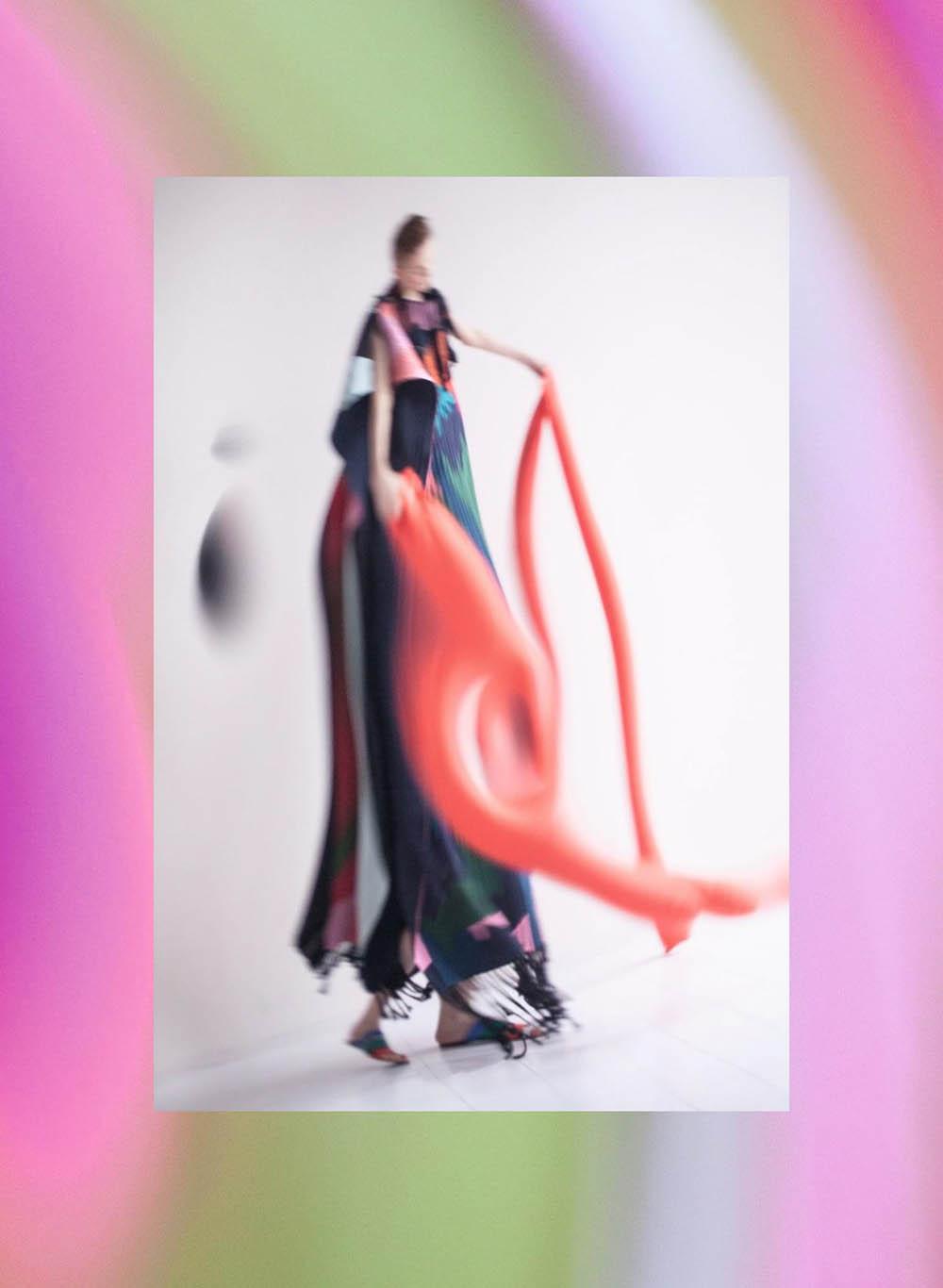 Lina Hoss by Paul Rousteau for Harper's Bazaar Germany April 2018