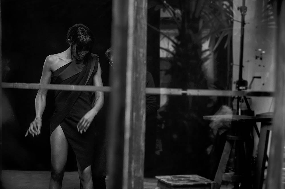 Naomi Campbell covers Numéro April 2018 by Peter Lindbergh