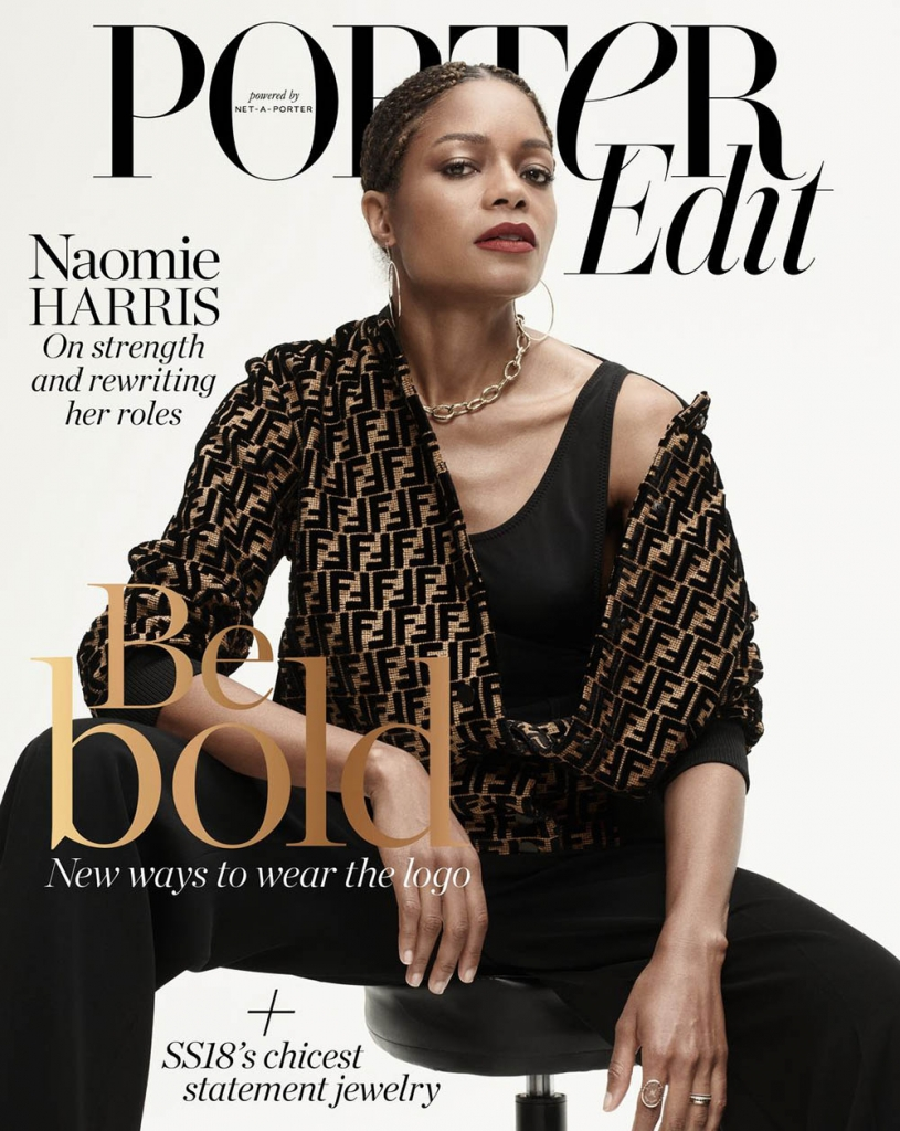 Naomie Harris covers Porter Edit April 20th, 2018 by Paola Kudacki