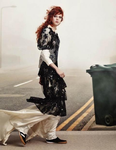 Natalie Westling by Craig Mcdean for British Vogue April 2018