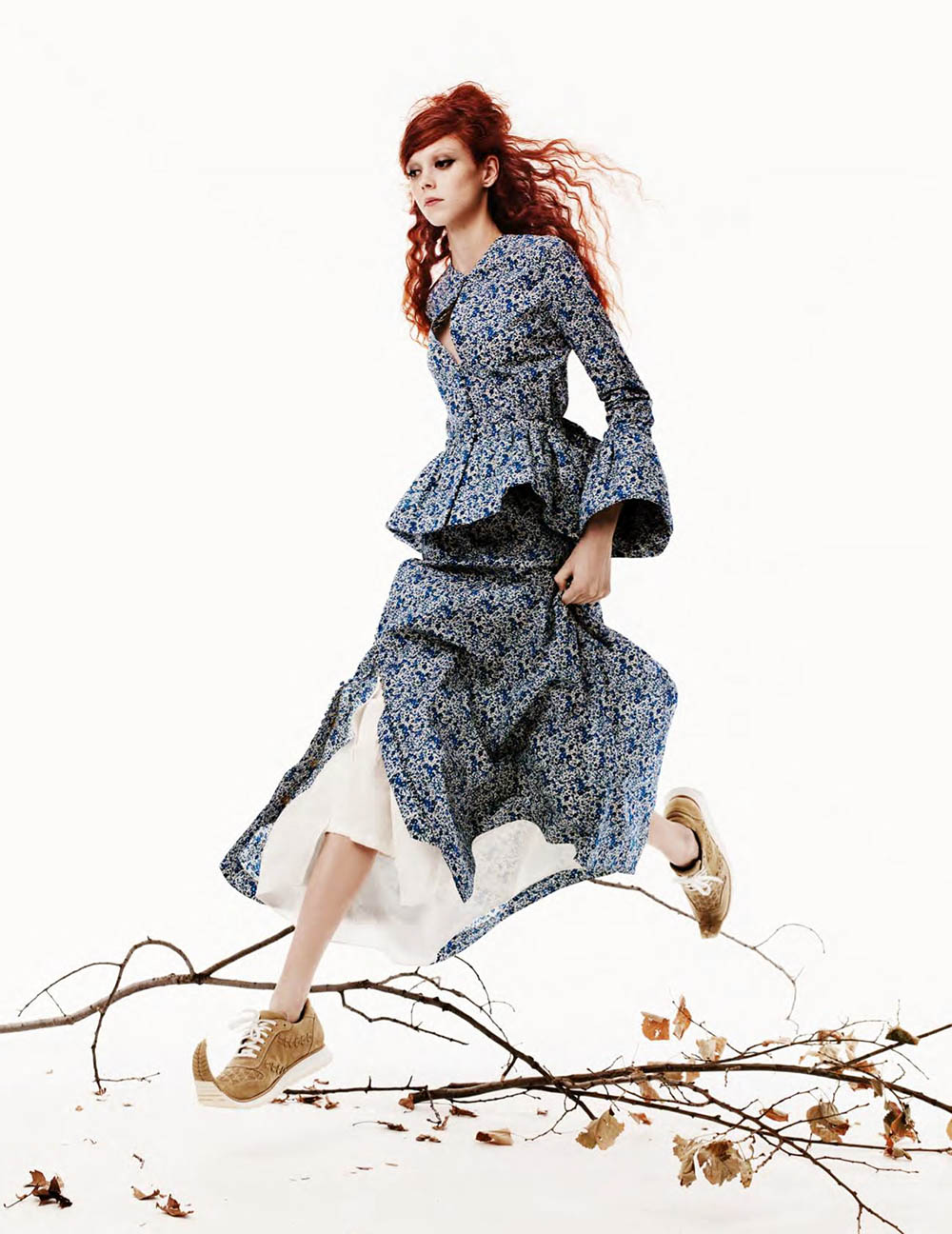 Natalie Westling by Craig Mcdean for British Vogue April 2018
