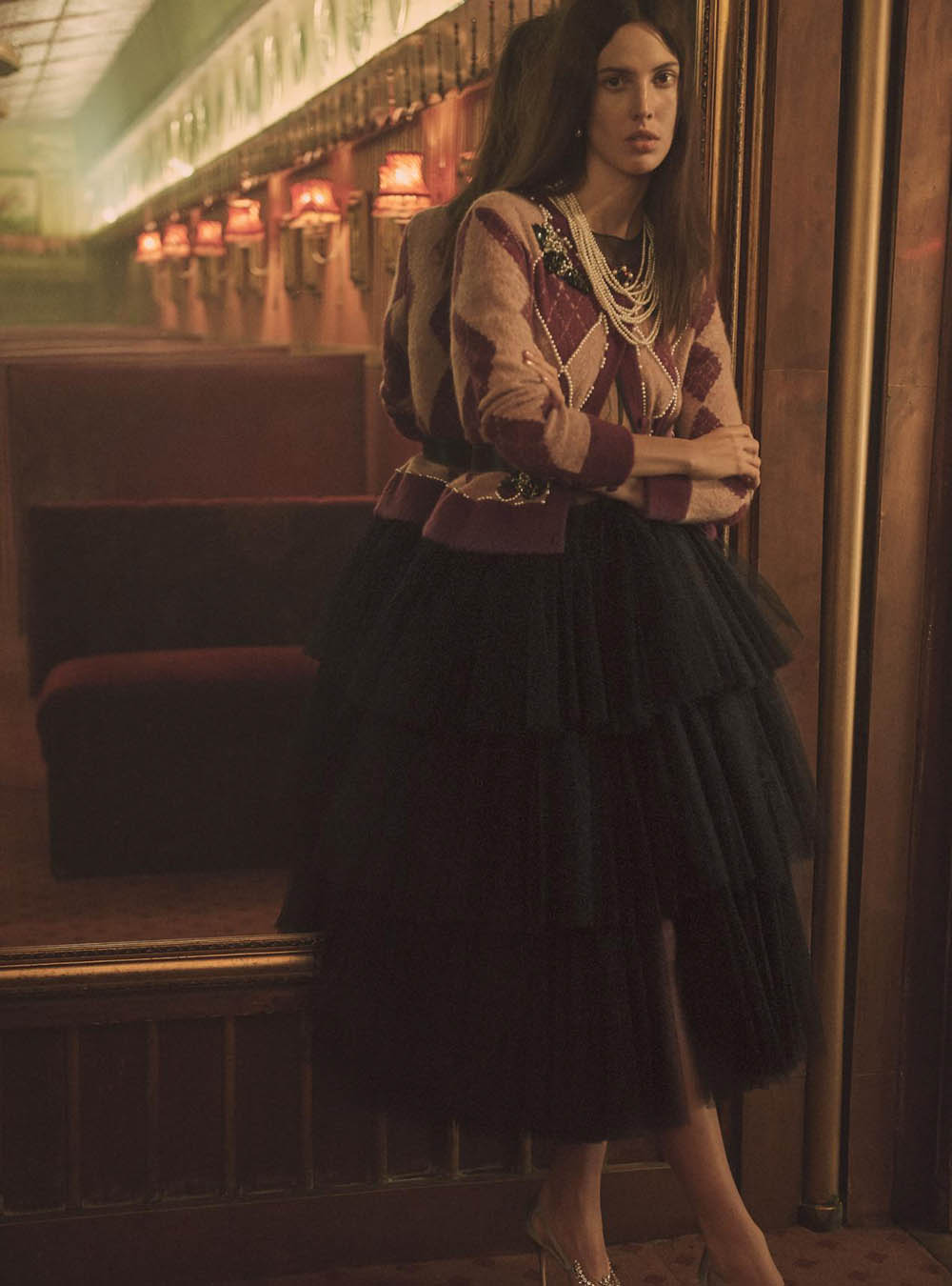 Ruby Aldridge by Regan Cameron for Harper's Bazaar UK April 2018