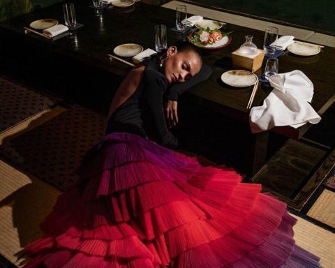 ''Sleeping Beauties'' by Inez and Vinoodh for Vogue Paris April 2018