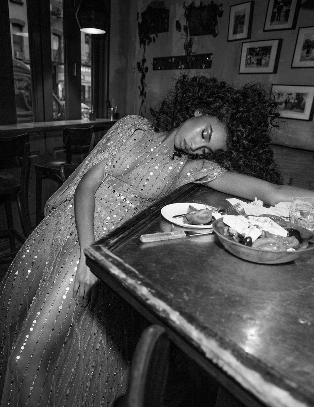 ''Sleeping Beauties'' by Inez and Vinoodh for Vogue Paris April 2018
