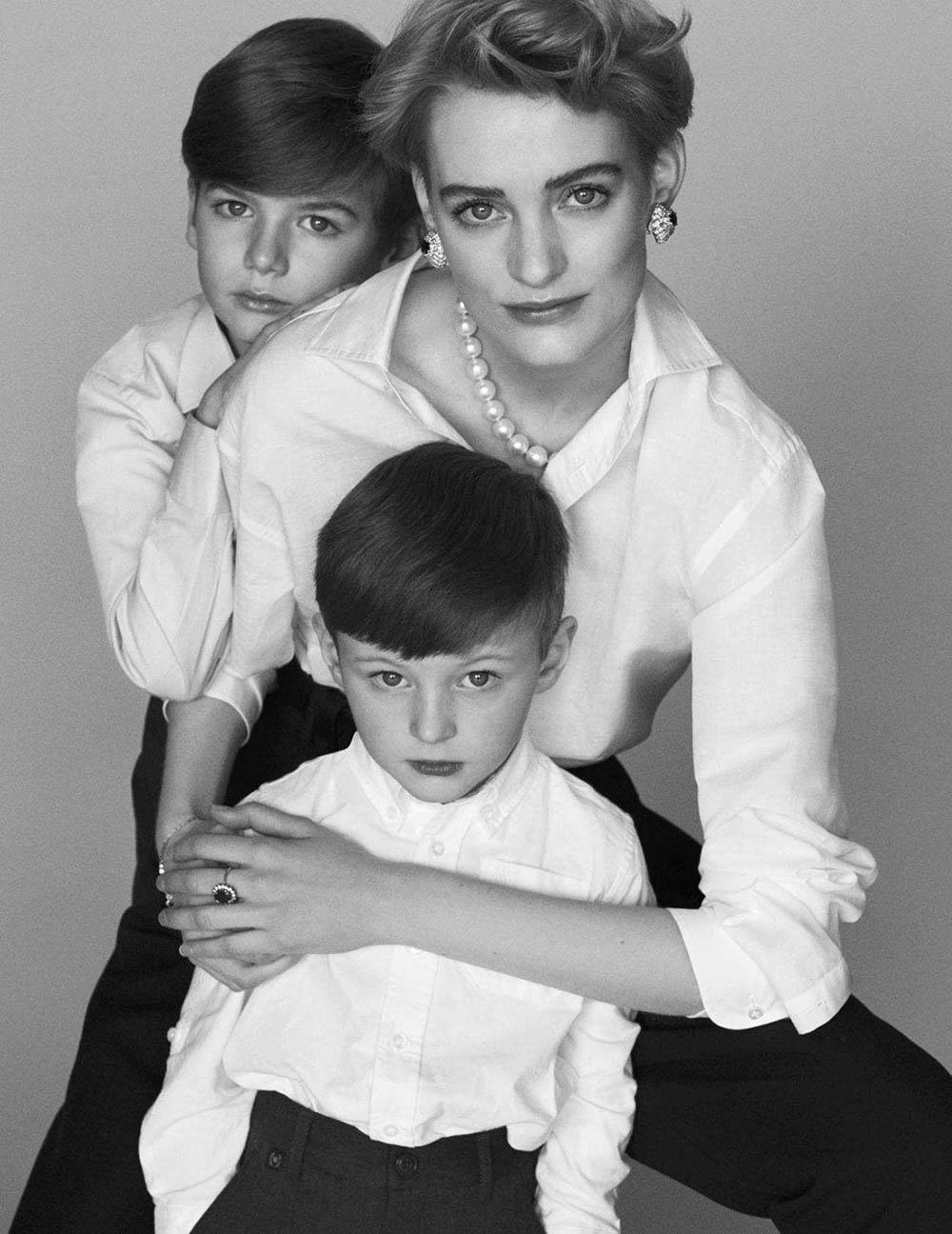 Sunniva Vaatevik by Alvaro Beamud for Vogue Spain April 2018