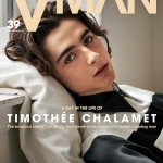 Timothée Chalamet covers VMan Spring Summer 2018 by Collier Schorr