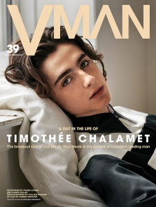Timothée Chalamet covers VMan Spring Summer 2018 by Collier Schorr